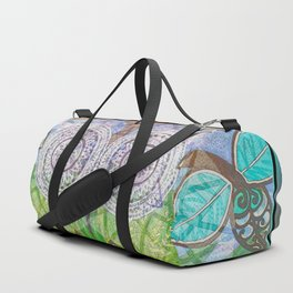 Dreams of Symmetry in Nature Painting Duffle Bag