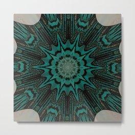 Recreational Maylanta Mandala 118 Metal Print