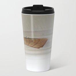 beauty in the mundane - moth Travel Mug