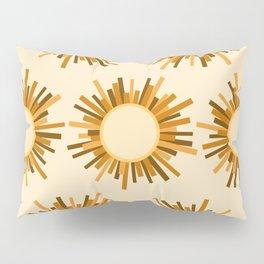 Art Deco Starburst Pillow Sham