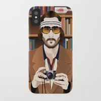 tenenbaum iPhone & iPod Cases featuring Richie Tenenbaum by The Art Warriors
