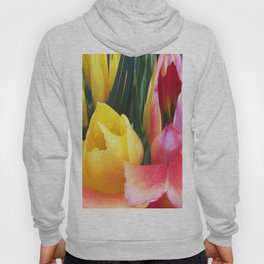 495 - Abstract Flower Design Hoody