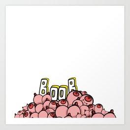 Booby style Art Print