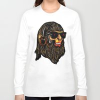 teen wolf Long Sleeve T-shirts featuring Teen Wolf by Vasco Vicente