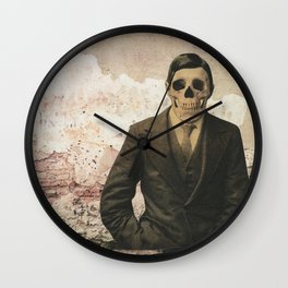 dermis_4 Wall Clock
