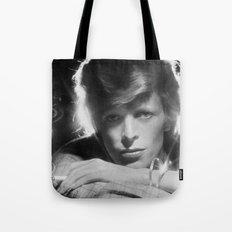 DAVID BOWIE 1975 Tote Bag