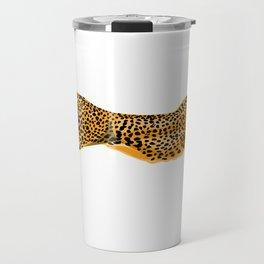 Running Cheetah Cat Travel Mug