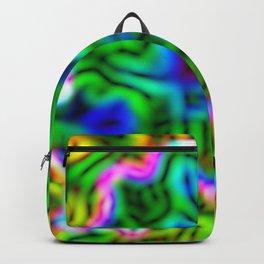 Neon Flowers 2 Backpack