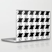 the office Laptop & iPad Skins featuring Office Space by LoveSpud