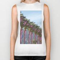 palms Biker Tanks featuring palms by melissamartin