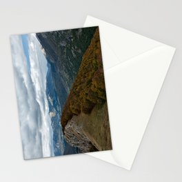 Abruzzo National Park from above Stationery Cards