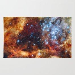 Grand star-forming region R136 in Tarantula Nebula  (NASA/ESA/Hubble) Rug