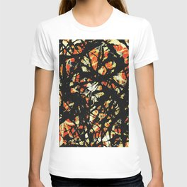 Jackson Pollock, vectorised and digitally modified, fine art decor and clothing T-shirt