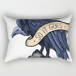 So It Goes Rectangular Pillow