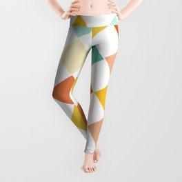 Color Check Leggings
