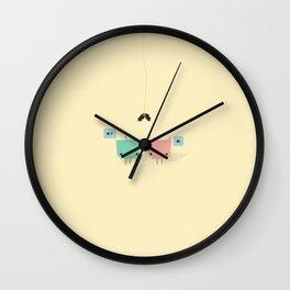 She & He Wall Clock