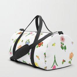 Flourishing Floral Duffle Bag
