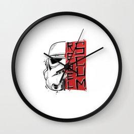 Rebel Scum II Wall Clock