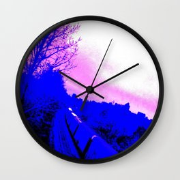 The Train Wall Clock