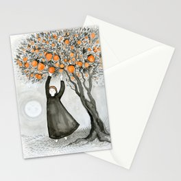 Hachiya Moon Stationery Cards