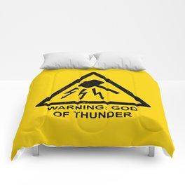 Warning: God of Thunder Comforters