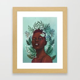 Garden Fantasy Framed Art Print
