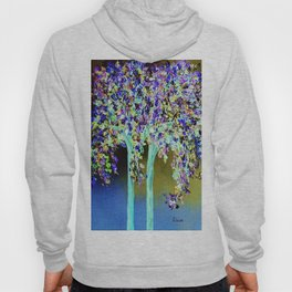 In a Blue and Purple World Hoody