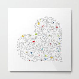 Heart (5) Metal Print