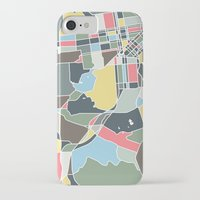 san francisco map iPhone & iPod Cases featuring San Francisco. by Studio Tesouro