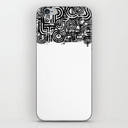Disorganized Speech #1 iPhone Skin