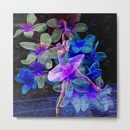 Flower Dancer Metal Print