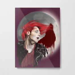 HØUSE OF WØLVES Metal Print