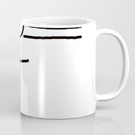 Wanted - Stickman Coffee Mug