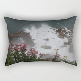 La flor Rectangular Pillow