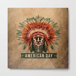 American Day Metal Print