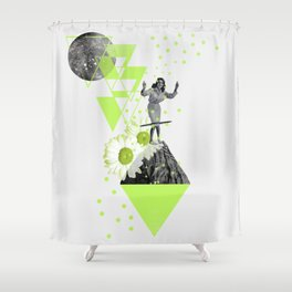 HULA HOOP Shower Curtain