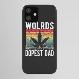 World Dopest Dad Weed 420 Cannabis iPhone Case