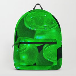 Green Jars All in a Row Backpack
