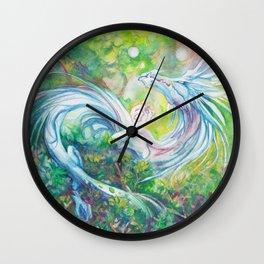 Playful Forest Spirit Wall Clock