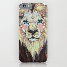 Laurence the Lion iPhone Case