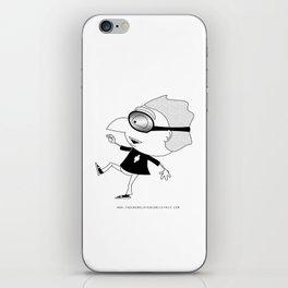 The Unemployed - Polino iPhone Skin