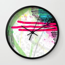 pnk disguise Wall Clock
