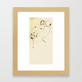 desnudas Framed Art Print