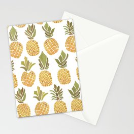 Vintage Pineapple Show Stationery Cards
