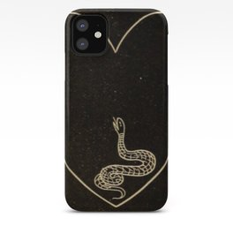 Snake Heart iPhone Case