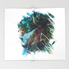 League of Legends TWISTED FATE Throw Blanket