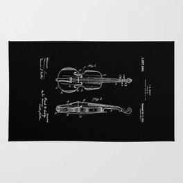 Violin Patent Rug