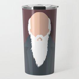 Charles Darwin Travel Mug