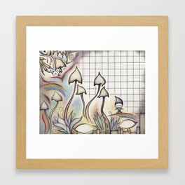 Mushland Framed Art Print