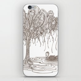 Dreaming Tree iPhone Skin